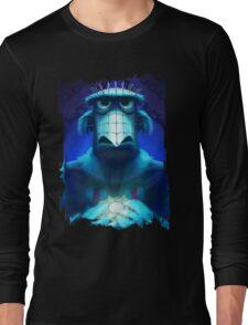 Muppet Maniac - Sam the Eagle as Pinhead Long Sleeve T-Shirt