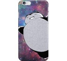 Snorlax In Space iPhone Case/Skin
