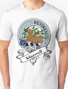 00099 Maxwell Clan/Family Tartan  Unisex T-Shirt