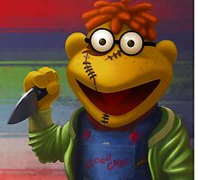 Muppet Maniac - Scooter as Chucky by GrimbyBECK