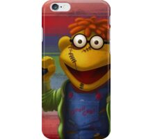 Muppet Maniac - Scooter as Chucky iPhone Case/Skin