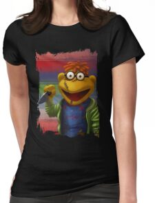 Muppet Maniac - Scooter as Chucky Womens Fitted T-Shirt