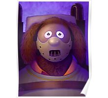 Muppet Maniac - Rowlf Lecter Poster