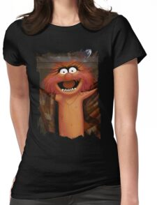 Muppet Maniacs - Animal as Buffalo Bill Womens Fitted T-Shirt