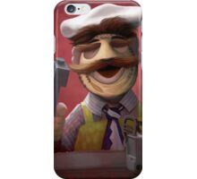 Muppet Maniacs - Swedish Chef as Leatherface iPhone Case/Skin