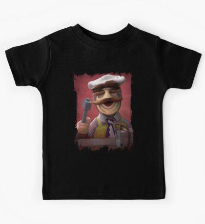 Muppet Maniacs - Swedish Chef as Leatherface Kids Tee