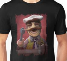 Muppet Maniacs - Swedish Chef as Leatherface Unisex T-Shirt