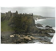Dunluce Castle N Ireland Poster