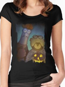 Muppet Maniacs - Beaker Myers & Dr. Honeyloomis Women's Fitted Scoop T-Shirt