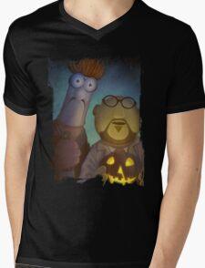 Muppet Maniacs - Beaker Myers & Dr. Honeyloomis Mens V-Neck T-Shirt