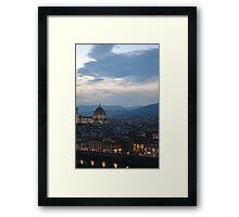 Firenze 1 Framed Print