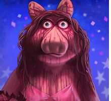 Muppet Maniacs - Ms. Piggy as Carrie by GrimbyBECK