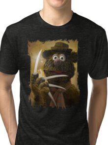 Muppet Maniacs - Fozzie Krueger Tri-blend T-Shirt
