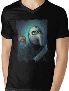 Muppet Maniacs - Gonzo Voorhees Mens V-Neck T-Shirt