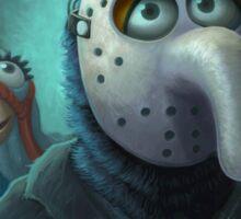 Muppet Maniacs - Gonzo Voorhees Sticker