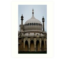Royal Pavilion in Brighton, England Art Print