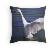 Spreading Wings Throw Pillow