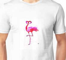 Flamingo Heads  Unisex T-Shirt