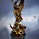 Statue in London, England by Laura Cooper