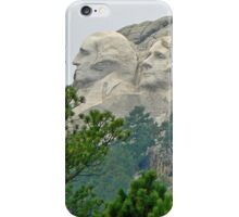 Two Faces of Rushmore iPhone Case/Skin