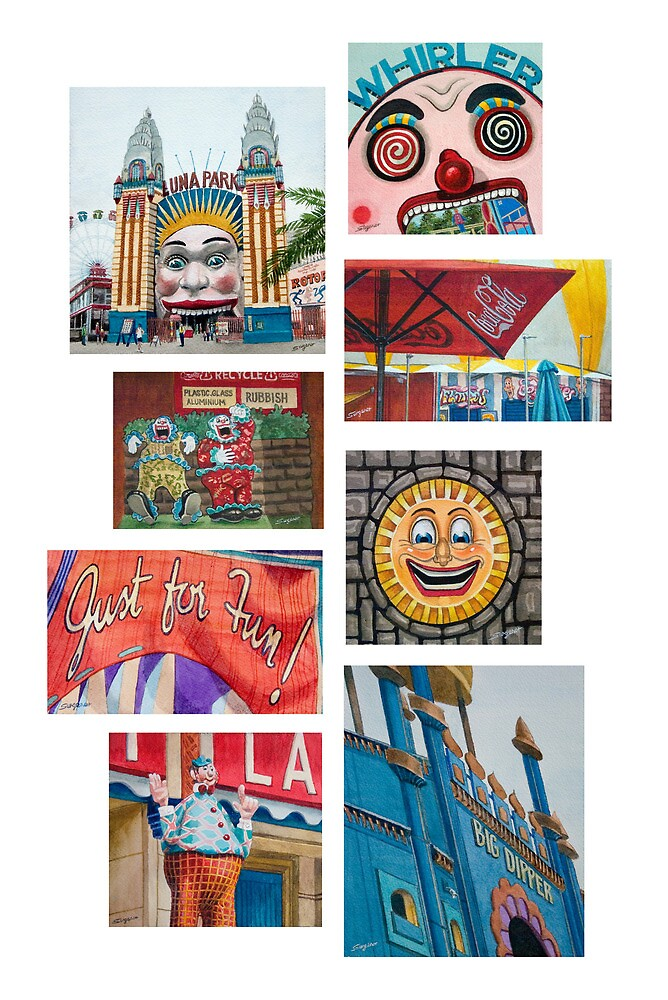 Luna Park by Freda Surgenor
