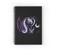 Neon Luna Spiral Notebook