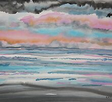 Storm,s a Brewing Daytona Beach Florida by eoconnor