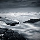 Lady's Pool, Merewether Beach by Ross Wood