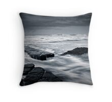 Lady's Pool, Merewether Beach Throw Pillow