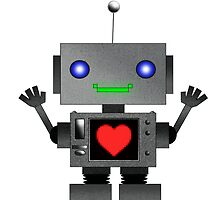 Cute Robot by Chris Singley
