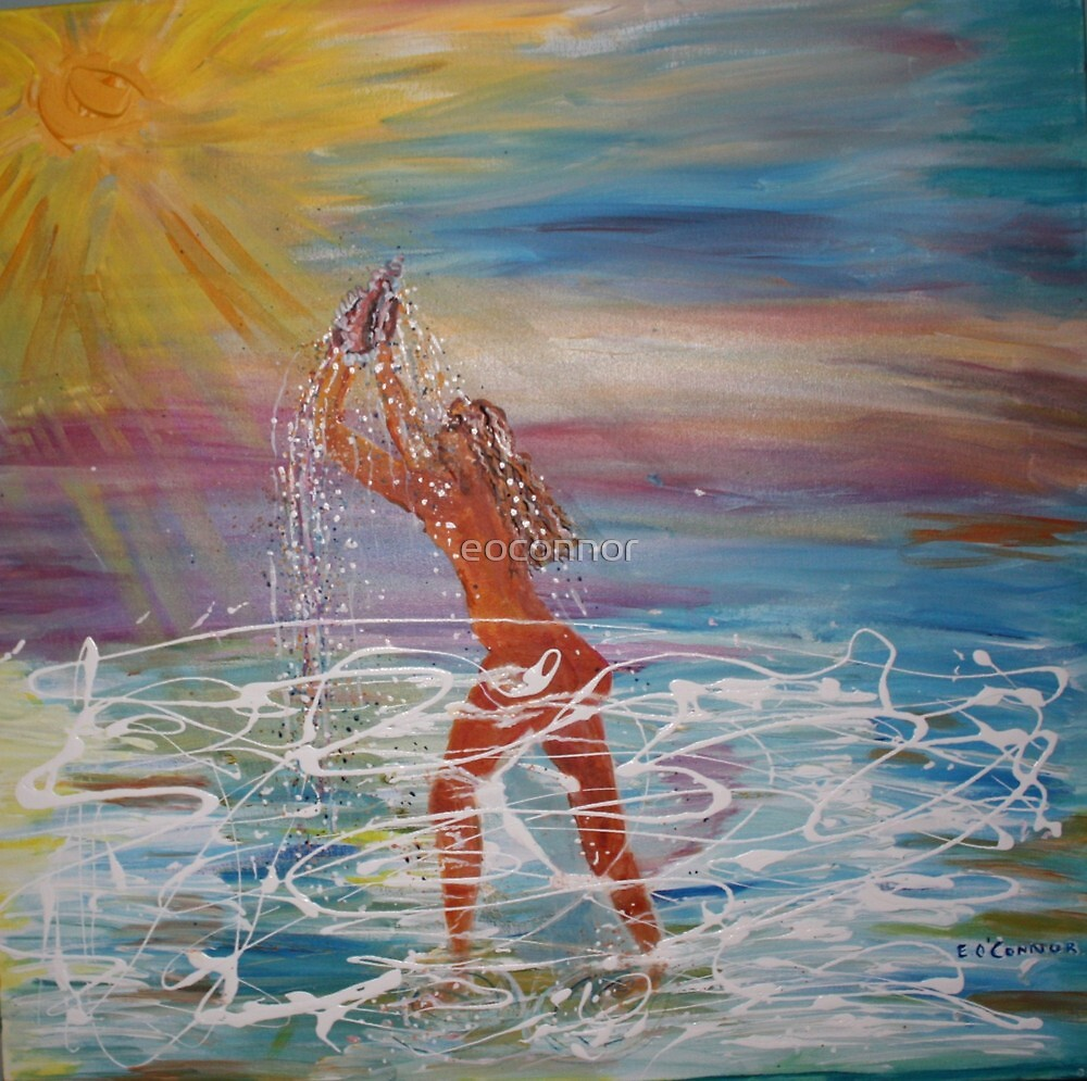 Summer Solstice Showering  2009 by eoconnor