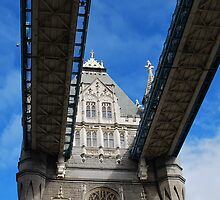 Tower Bridge, London, England by Laura Cooper