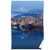 Victoria Dock, Hobart Poster
