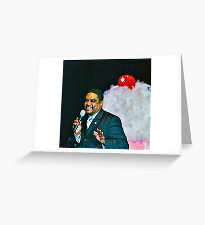 The Drifters, Ron McPhatter - Golden Oldies Greeting Card