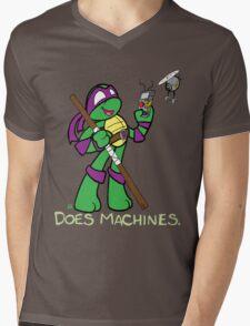 Teenage Mutant Ninja Turtles- Donatello Mens V-Neck T-Shirt