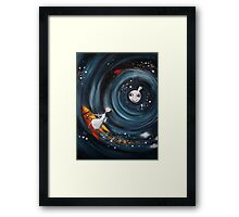 off on a whim.... Framed Print