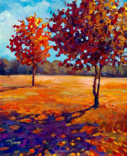 Autumn Shade by Eva C. Crawford