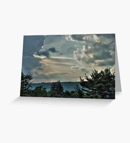 Multi-layered Sky Greeting Card