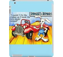 That'll be an arm and a leg please. iPad Case/Skin