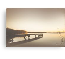 Summer bleech Canvas Print