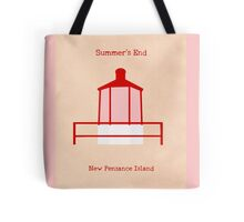 Welcome to Summer's End Tote Bag
