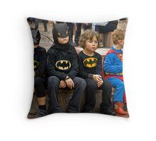 Innocent Heroes. Throw Pillow