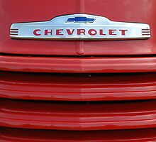 Chevrolet grill by Roxane Bay