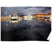 D'Albora's Marina in Nelson Bay, Australia Poster