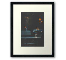 Dateless Framed Print