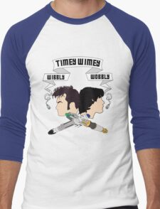 Timey Wimey Doctors Men's Baseball ¾ T-Shirt