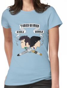 Timey Wimey Doctors Womens Fitted T-Shirt