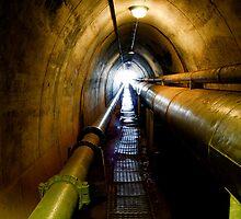 World War II Oil Storage Tunnels - Entrance by Helen Martikainen