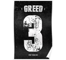 7 Deadly sins - Greed Poster