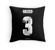 7 Deadly sins - Greed Throw Pillow